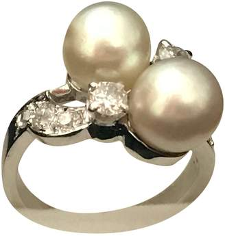 BEIGE Non Signé / Unsigned Non Signe / Unsigned White gold Ring