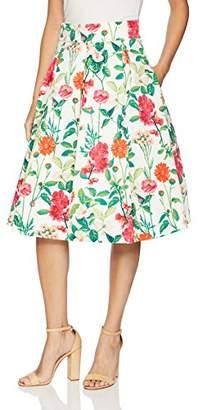 3faed0476b338 Eliza J Women s Floral Midi Skirt