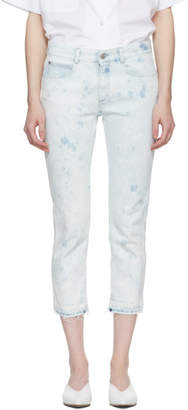 Stella McCartney Blue Skinny Boyfriend Jeans