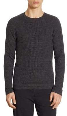 Vince Double Layered Wool Pullover