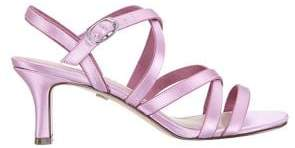 Nina Genaya Strappy Mid-Heel Sandals