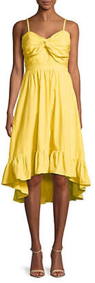 Joie Clorinda Cotton Hi-Lo Dress