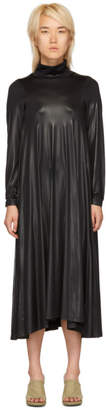 MM6 MAISON MARGIELA Black Stretch Turtleneck Dress