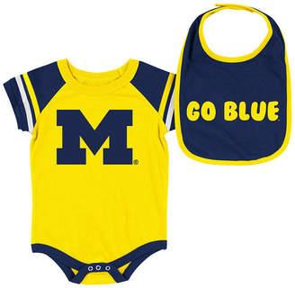 ca6cdcfae Colosseum Michigan Wolverines Onesie & Bib Set, Infants (0-9 Months)
