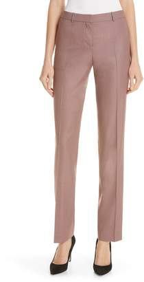 BOSS Tamea Straight Leg Wool Suit Trousers