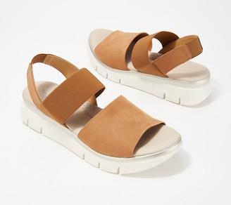 The Flexx Leather Back-Strap Sandals - Cushy