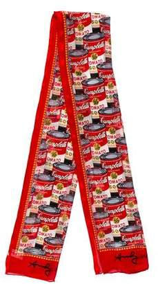 MOMO Design Silk Andy Warhol Scarf