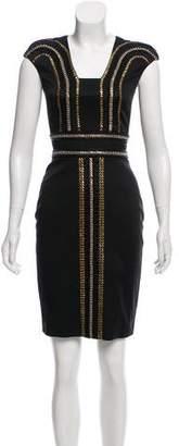 Sass & Bide Embellished Mini Dress w/ Tags
