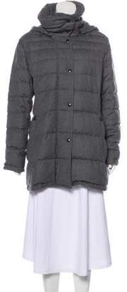 Akris Wool Down Coat