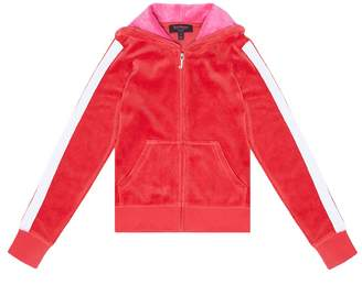 Juicy Couture Velour Juicy Valentine Robertson Jacket for Girls
