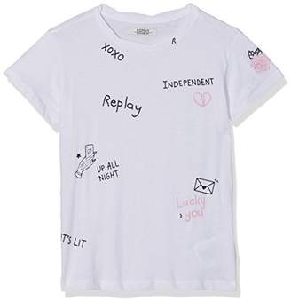 Replay Girl's SG7461.051.20994 T-Shirt