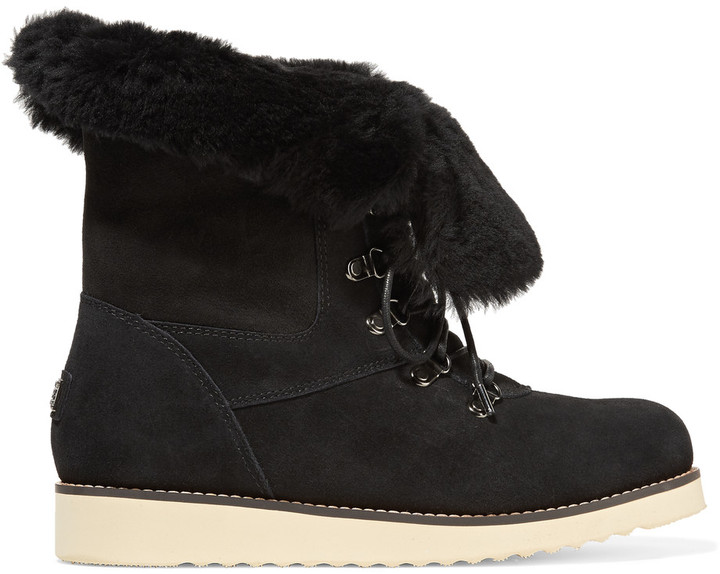 Australia Luxe CollectiveAustralia Luxe Collective Yael shearling-lined suede boots