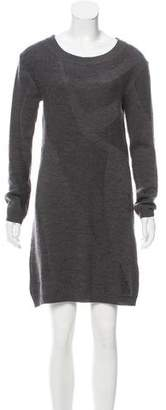 Zero Maria Cornejo Merino Wool Sweater Dress
