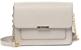Cole Haan Piper Mini Leather Flap Crossbody Bag