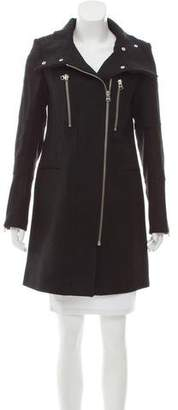 Zadig & Voltaire Virgin Wool Knee-Length Coat