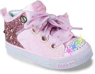Skechers Twinkle Toes Trendy Twinkle Toddler & Youth Light-Up Sneaker - Girl's