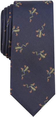 Bar III Men Happy Frog Skinny Tie