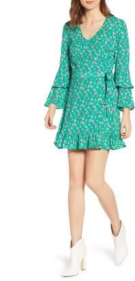 The Fifth Label Adventurer Floral Wrap Minidress