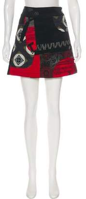 Desigual Printed Mini Skirt