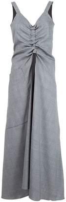 Ellery draped chest dress