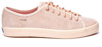 Keds Wolverine Suede Light Pink Lace Up Sneaker