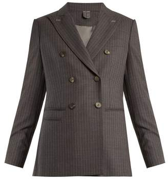 Max Mara Piombo Jacket - Womens - Grey Stripe