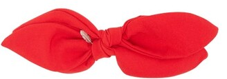 Lafayette House Of Silk Bow Hair Slide - Womens - Red