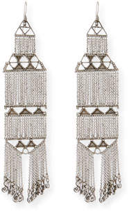 Saint Laurent Marrakech Chain Earrings