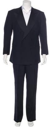 Kiton Double-Breasted Wool Tuxedo