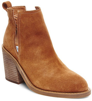 Steve Madden Sharini Suede Booties $109 thestylecure.com