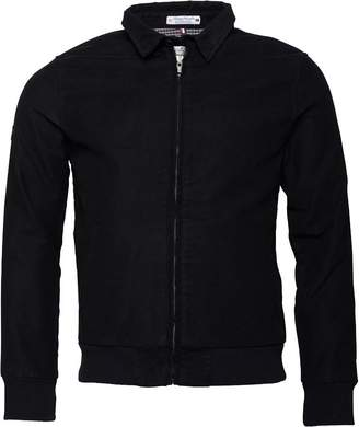Superdry Mens Ultimate Moleskin Harrington Jacket Black