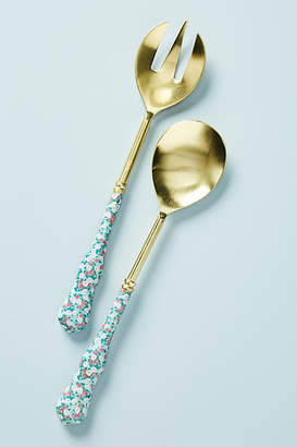 Anthropologie Alfonse Serving Utensils, Set of 2
