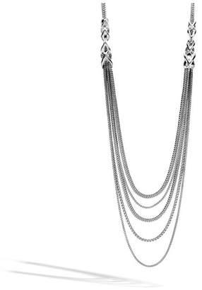 John Hardy Asli Classic Chain Link Bib Necklace