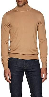 Brioni Men's Fine-Gauge Wool Turtleneck Sweater