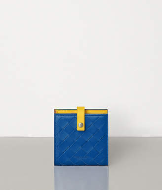 Bottega Veneta MINI FRENCH WALLET IN NAPPA AND CALF