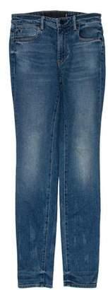 Alexander Wang Denim x Mid-Rise Jeans