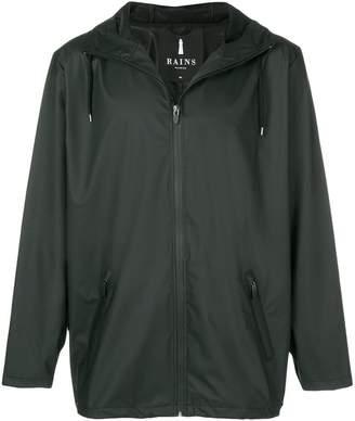 Rains lightweight hooded jacket