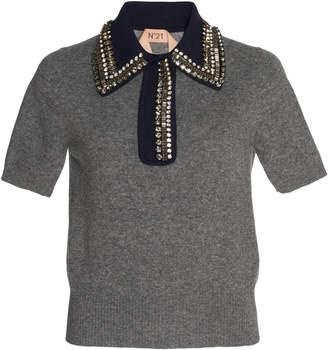 N°21 N 21 Ludmilla Polo Knit Sweater