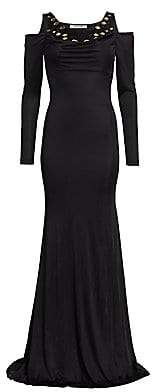 Roberto Cavalli Women's Mirrored Jersey Gown