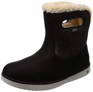 Bogs [ボグス] レインシューズ SHORT BOOTS MULTI スノーブーツ 防寒ブーツ BLACK EU 40(25 cm)