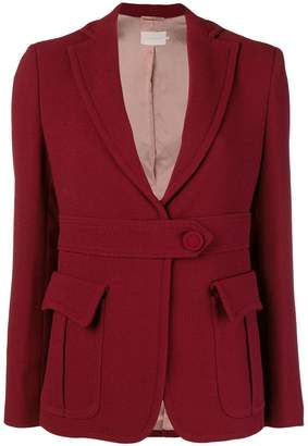 L'Autre Chose front button blazer