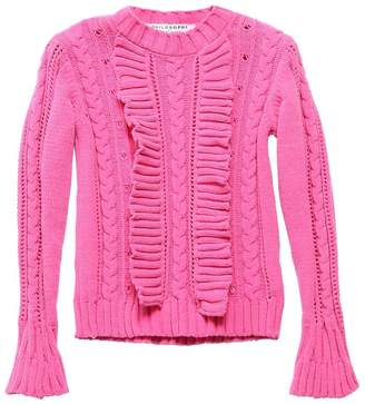 Philosophy di Lorenzo Serafini TECHNO CHENILLE KNIT SWEATER