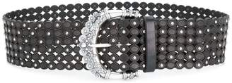 Orciani wide laser cut belt