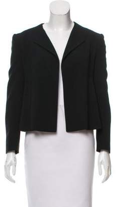 Narciso Rodriguez Long Sleeve Open Front Blazer