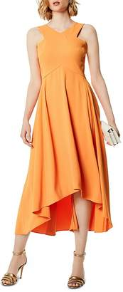 Karen Millen High/Low Midi Dress