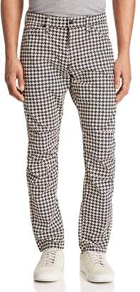 G Star Elwood 5622 3D Slim Fit Jeans in Houndstooth
