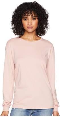 Richer Poorer Long Sleeve Pocket Tee Women's T Shirt