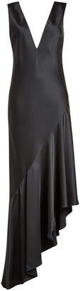 Haider Ackermann Asymmetric Satin Dress