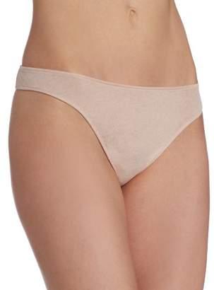 Only Hearts Women's Organic Cotton Basic Thong Panty