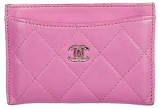 Chanel Quilted Leather Cardholder